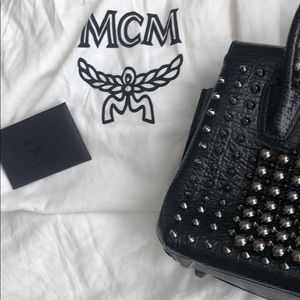 MCM Bags - Mini Milla with Studs
